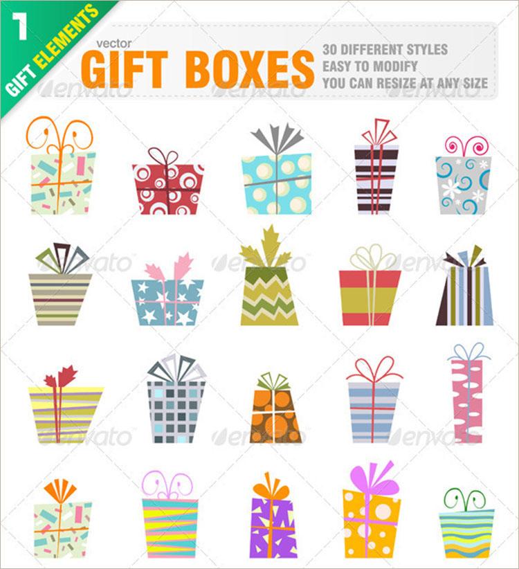 multipul-thanksgiving-gift-packing-design-templates