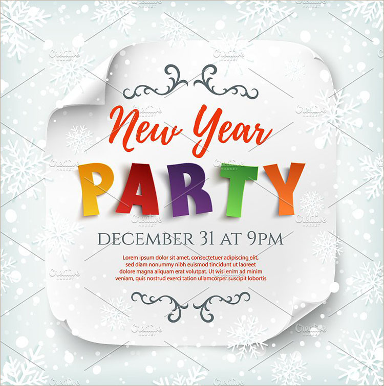 new years eve poster templates free premium templates creative template