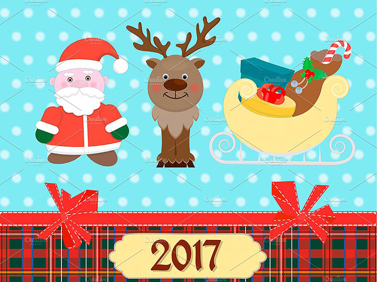new-year-2017-decoration-design-templates