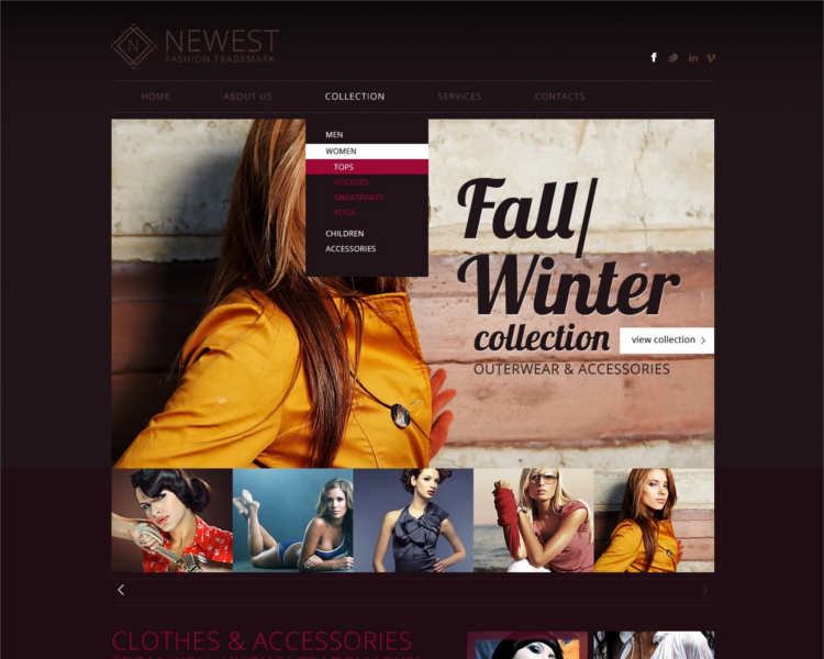 newest-women-fashion-design-website-templates