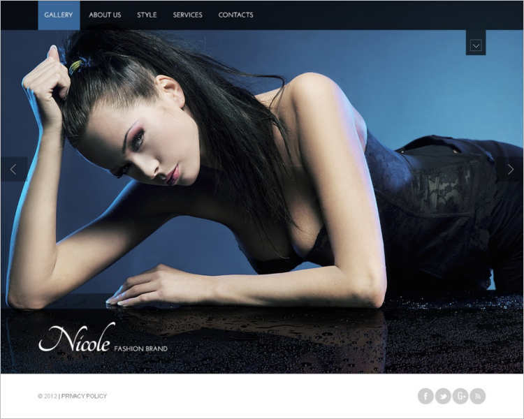 niwle-fashion-design-website-templates