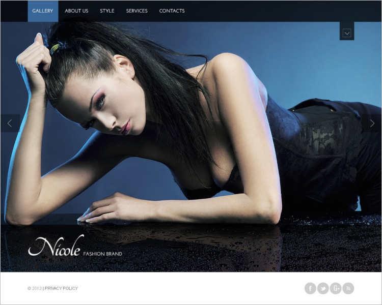 niwle-fashion-design-website-templates
