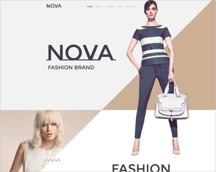 nova-fashion-design-website-templates