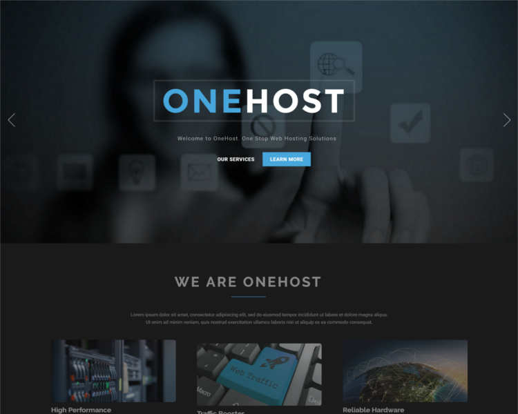 one-host-joomla-templates