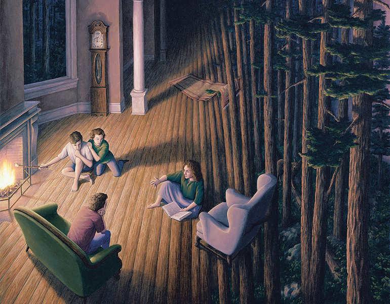 optical-magic-bamboo-sticks-painting