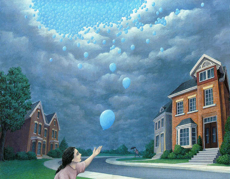 optical-magic-rain-illustion-painting