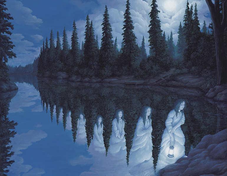 optical-magic-water-girl-painting