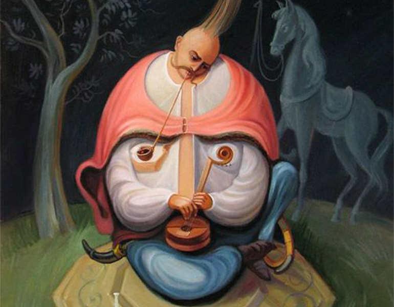 optical-man-working-illusion-painting