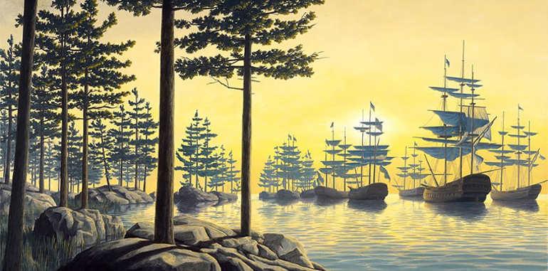 optimal-sunrise-illusion-painting