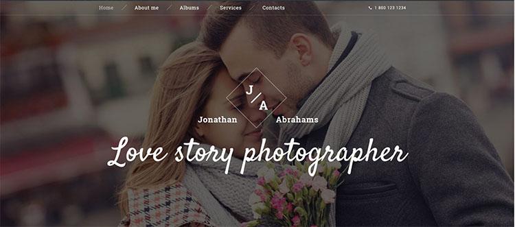 pair-photo-website-theme-templates