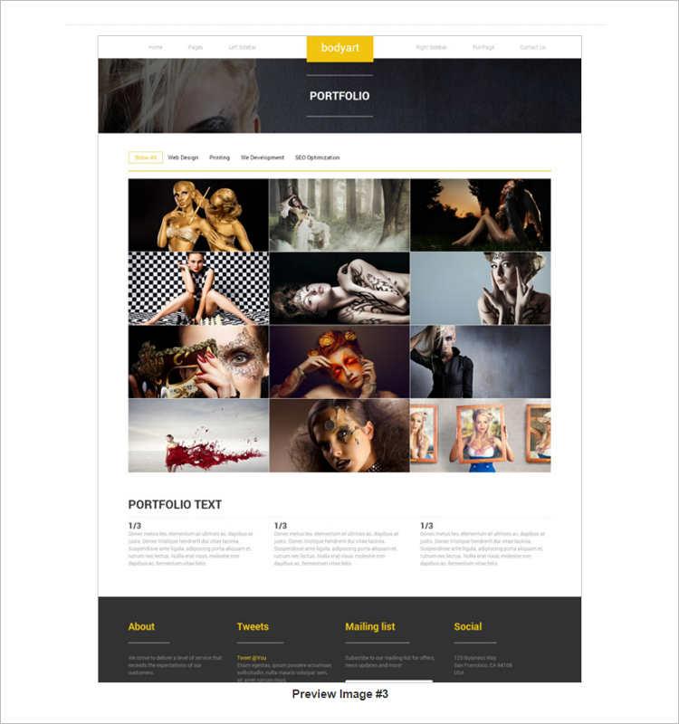 portfilio-women-fashion-website-templates