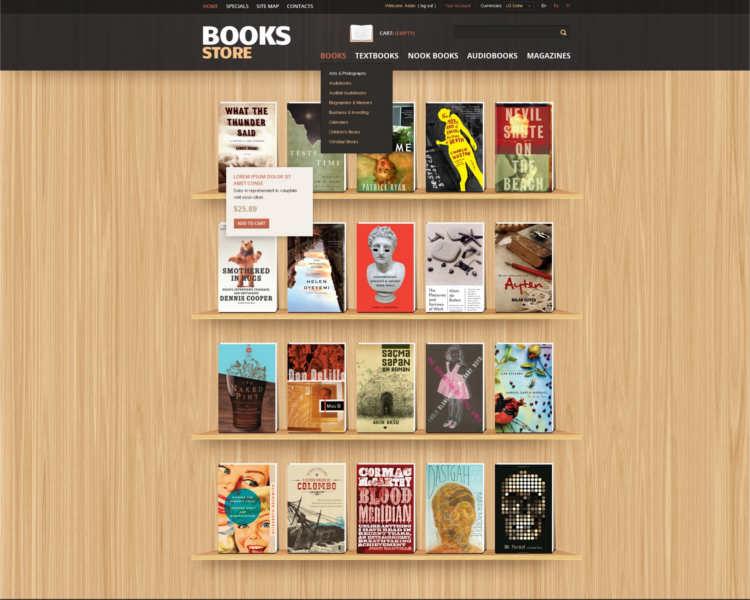 premium-books-prestashop-theme-templates