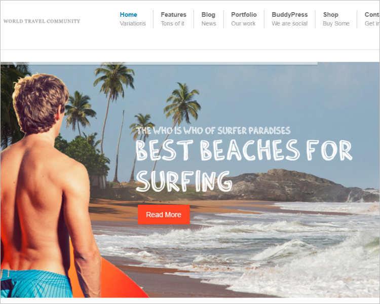 premium-buddy-vacation-wordpress-templates