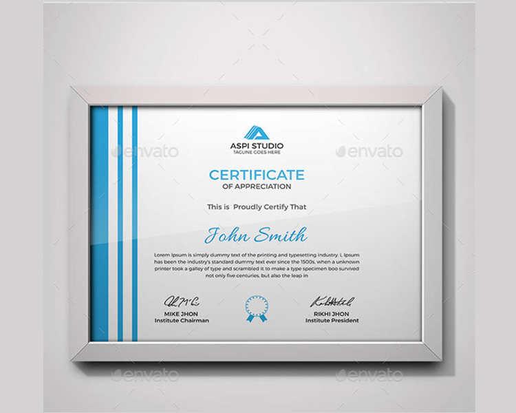 premium-certificate-templates