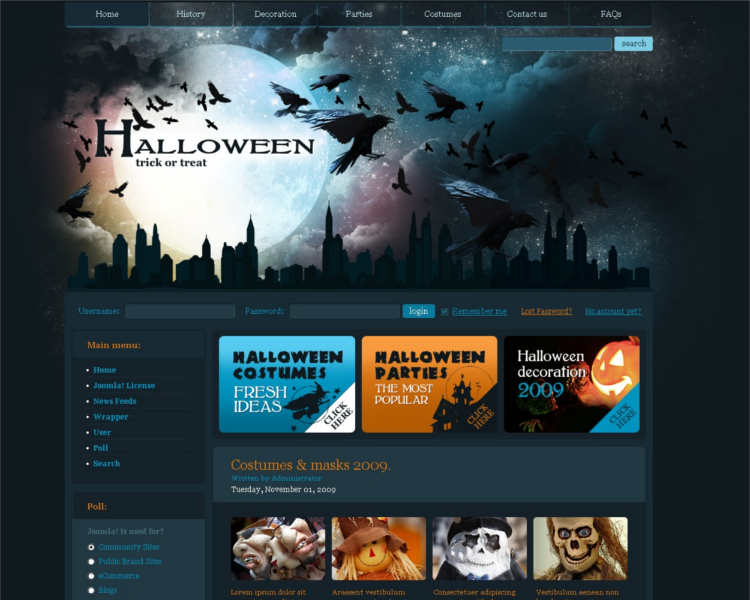 premium-halloween-track-joomla-template