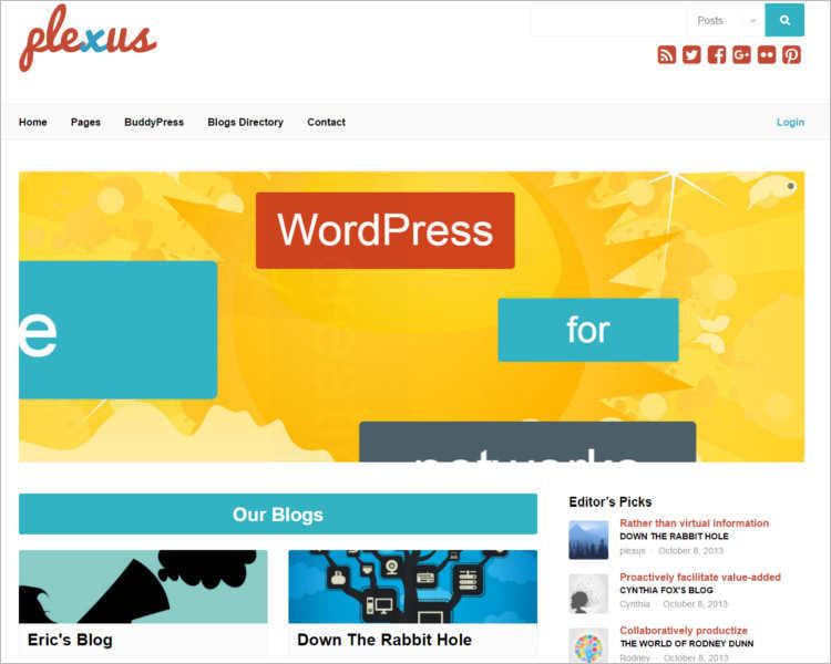 premium-modern-buddy-wordpress-templates