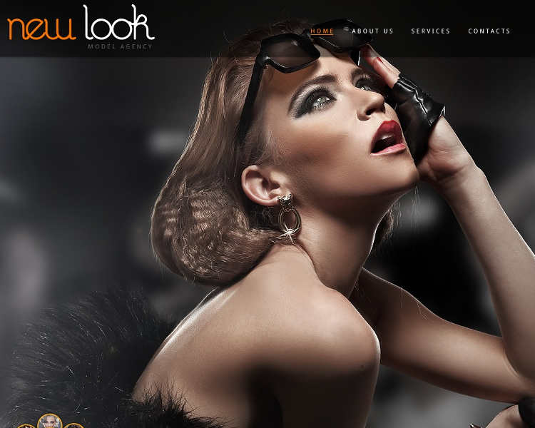 premium-new-model-agency-website-templates