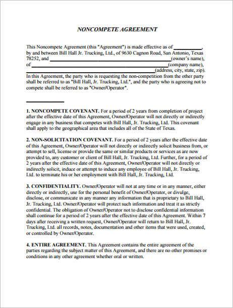 premium-non-compete-agreement-template
