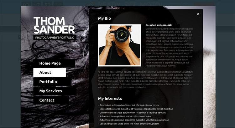 premium-photo-website-theme-templates