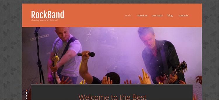 premium-rock-band-website-templates