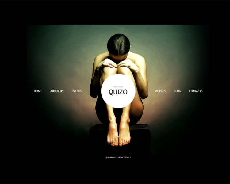 quizo-model-agency-website-templates