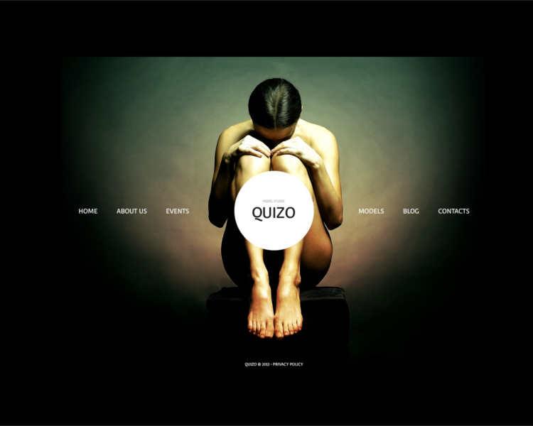 quizo-model-agency-website-templates