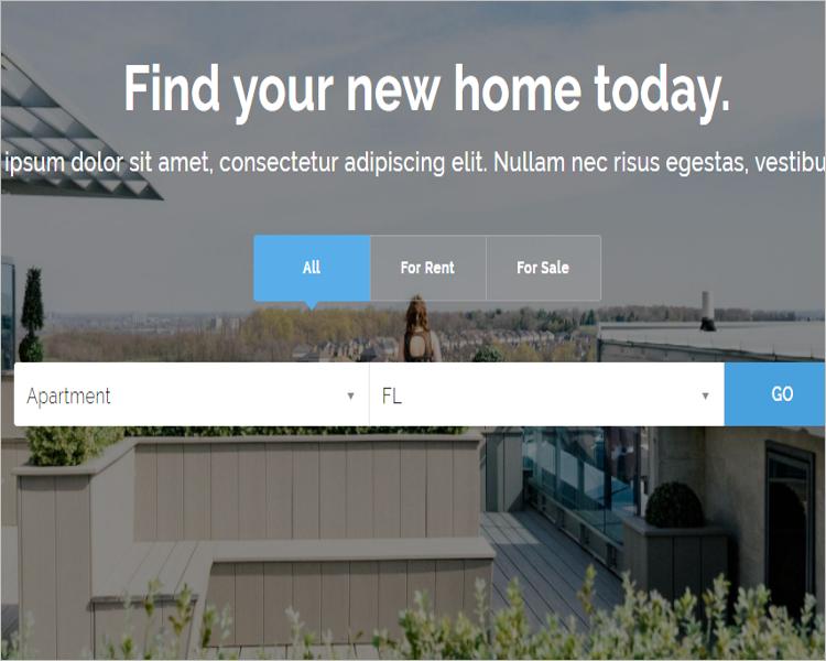 Real Estate Agency WordPress Theme