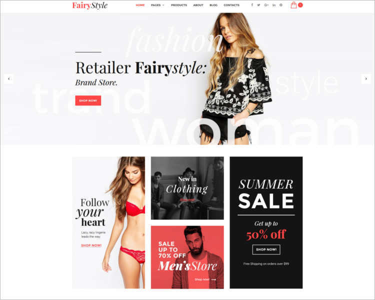 responsive-apparel-fairstyle-websitye-templates