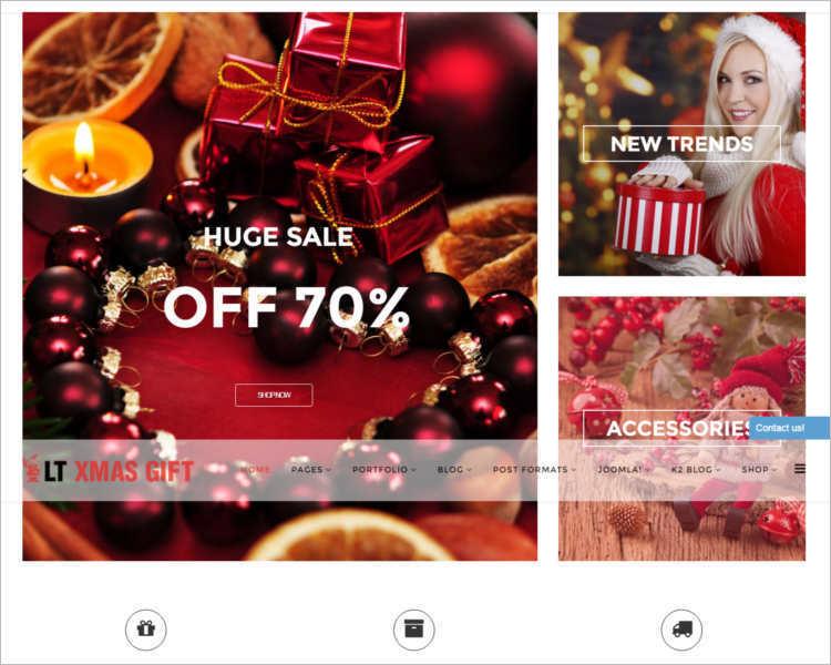 responsive-christmas-joomla-templates