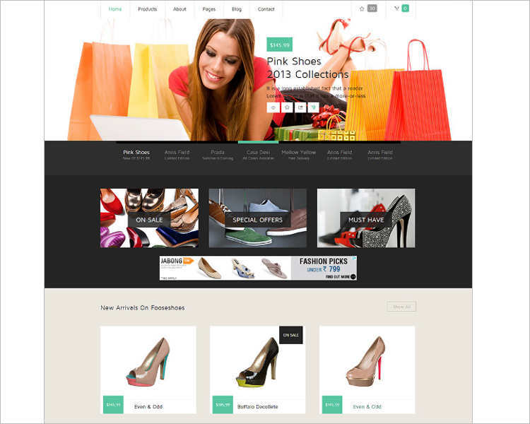 responsive-simple-e-commerce-template