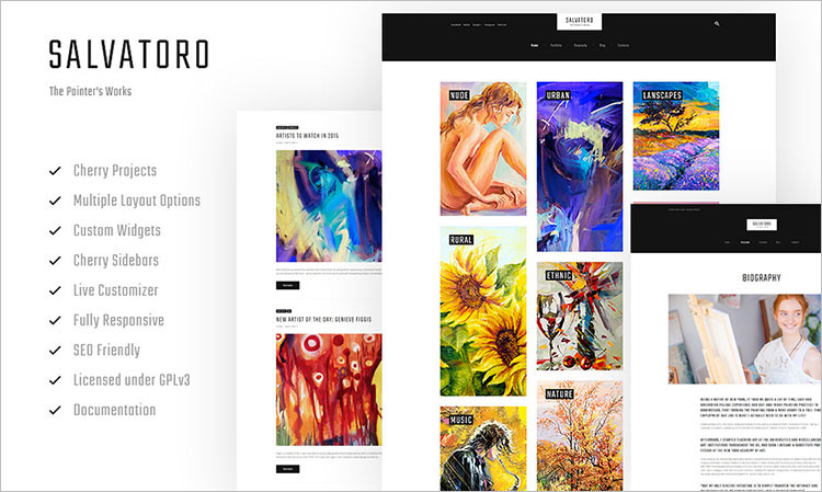 salvatoro-wordpress-theme