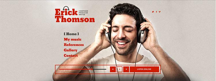 sample-dj-website-theme-template