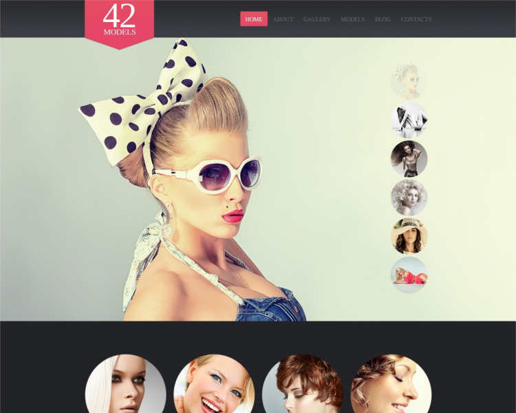 several-model-ahency-website-templates