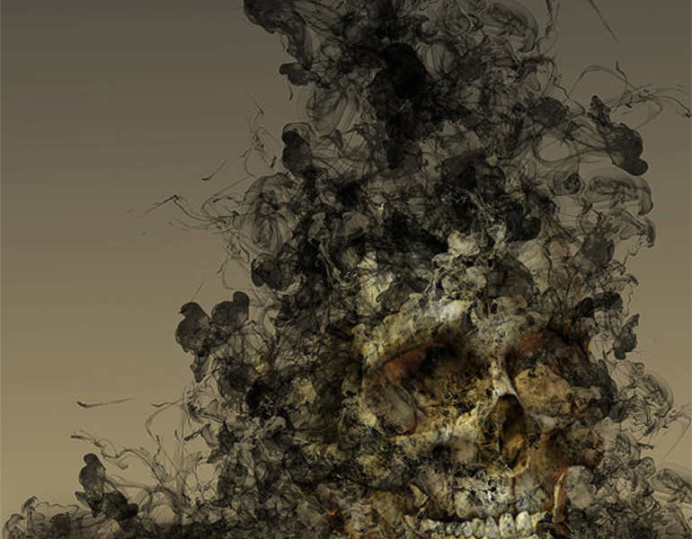 smoke-skull-art-photography
