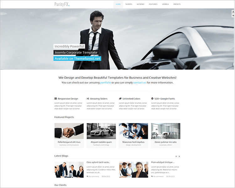 sortable-portfolio-corporate-joomla-template