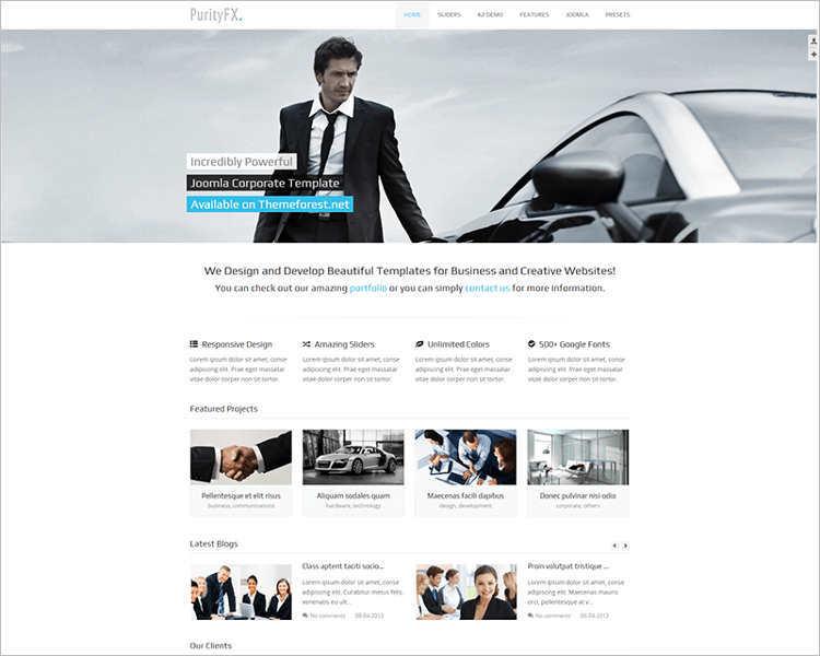 sortable-portfolio-corporate-joomla-template