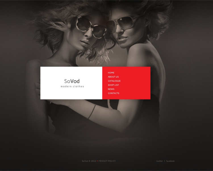 sovod-fashion-design-website-templates