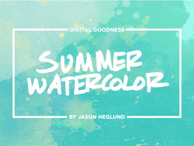 summer-watercolour-digital-textures