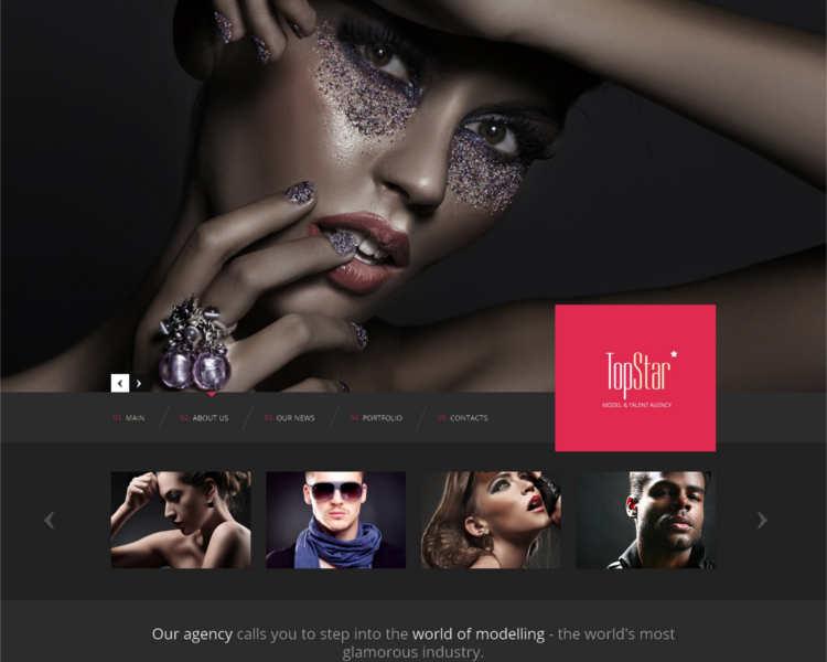 top-model-agency-website-templates