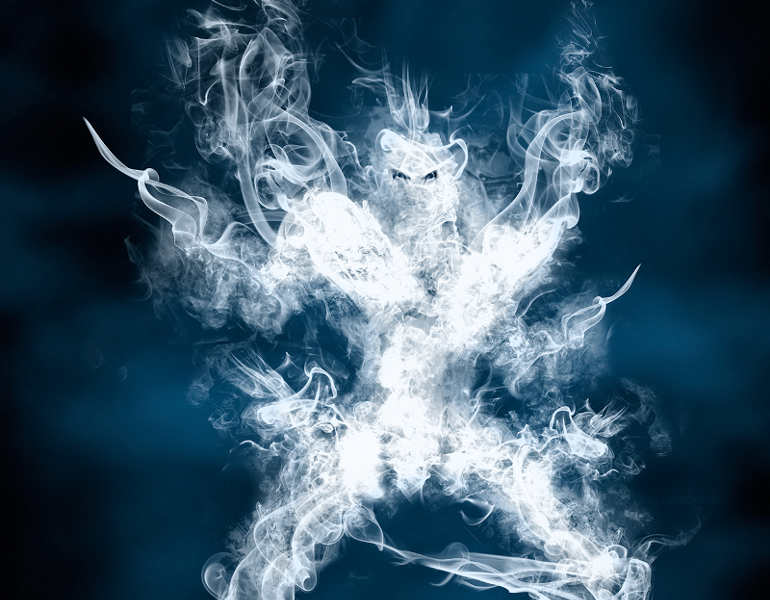 warrior-smoke-art-photography