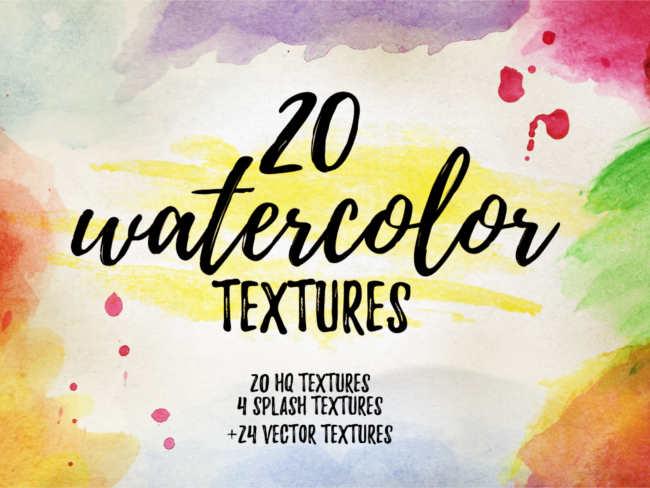 watercolour-vector-textures
