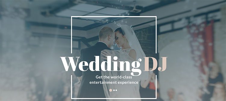 wedding-dj-website-theme-template