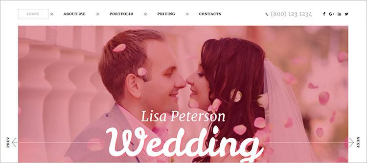 wedding-photo-website-theme-templates