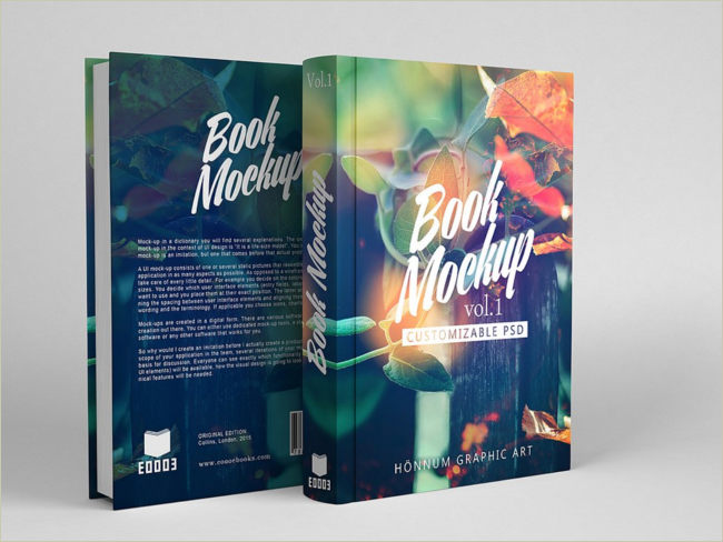awesome book cover mockup