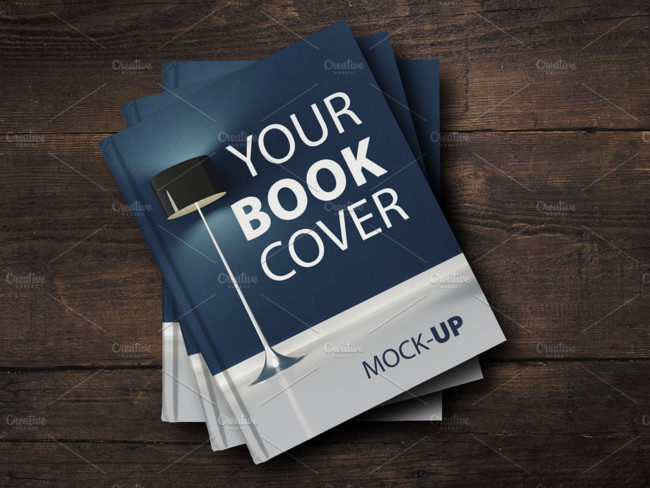 book cover mockup design