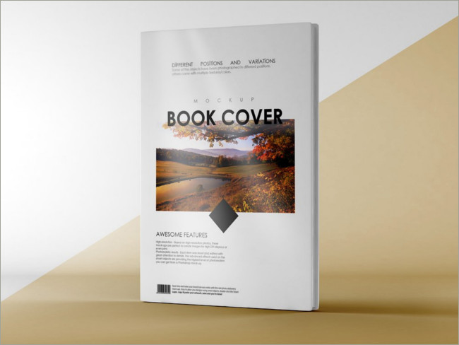 Free PSD Book Cover Mockups - Creative Template | Creative Template