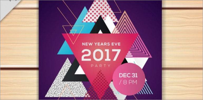 New Year Brochure Templates
