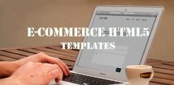 Ecommerce HTML5 Templates