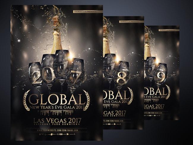 29+ New Year Flyer Templates || Free & Premium Templates ...