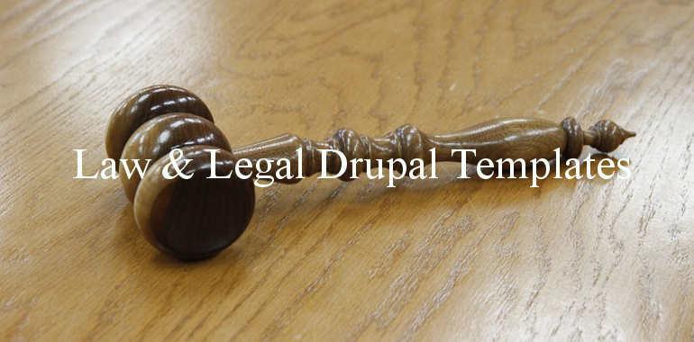Legal Drupal Themes